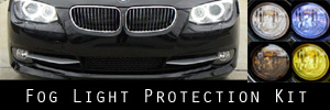11-13 BMW 3 Series Coupe / Convertible Fog Light Protection Kit