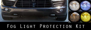 11-14 Porsche Cayenne Fog Light Protection Kit
