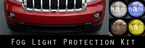 11-13 Jeep Grand Cherokee Fog Light Protection Kit