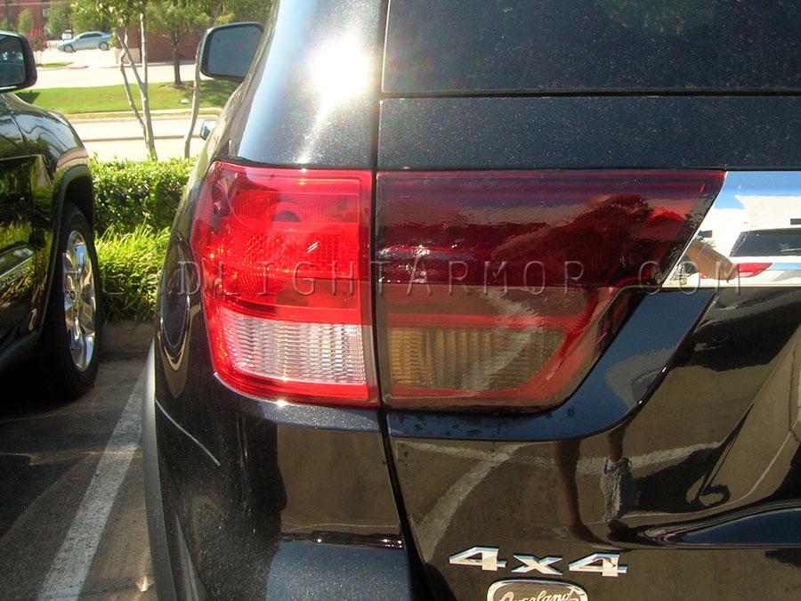 ... Jeep Grand Cherokee Smoke Taillight Kit VS Stock ...