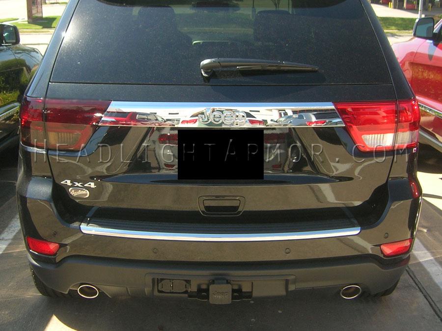... Jeep Grand Cherokee Smoke Taillight Kit VS Stock