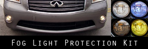 11-13 Infiniti M37 M56 Fog Light Protection Kit