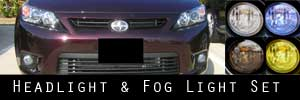 11-13 Scion tC Headlight and Fog Light Protection Kit