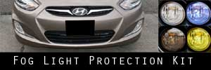 12-16 Hyundai Accent Fog Light Protection Kit