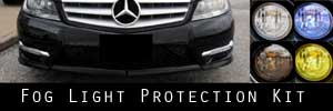 12-14 Mercedes-Benz C300 and C350 and C63 Fog Light Protection Kit