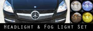 12-16 Mercedes-Benz Headlight and Fog Light Protection Kit