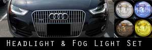 13-15 Audi allroad Headlight and Fog Light Protection Kit