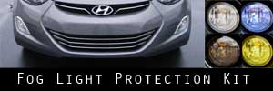 11-13 Hyundai Elantra Fog Light Protection Kit