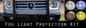 12-18 Mercedes-Benz G Wagon Fog Light Protection Kit