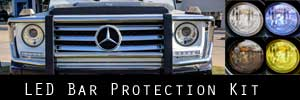 12-18 Mercedes-Benz G Wagon LED Bar Protection Kit