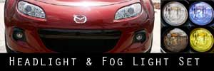 13-15 Mazda MX-5 Miata Headlight and Fog Light Protection Kit