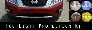 13-16 Nissan Pathfinder Fog Light Protection Kit
