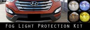 13-16 Hyundai Santa Fe Sport Fog Light Protection Kit