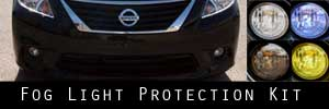12-14 Nissan Versa Fog Light Protection Kit