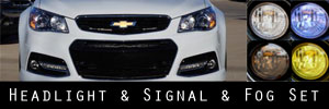 14-15 Chevrolet SS Headlight and Fog Light Protection Kit