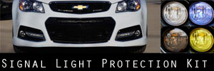 14-15 Chevrolet SS LED Marker Light Protection Kit