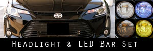 14-15 Scion tC Headlight and LED Bar Protection Kit