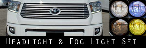 14-19 Toyota Tundra Headlight and Fog Light Protection Kit