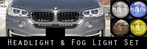 14-18 BMW X5 Headlight and Fog Light Protection Kit
