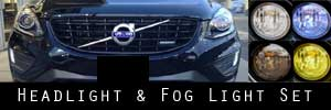 14-17 Volvo XC60 Headlight and Fog Light Protection Kit
