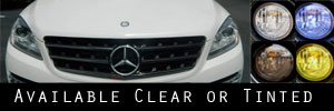15 Mercedes-Benz ML Class Sedan Headlight Protection Kit