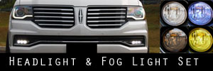 15-17 Lincoln Navigator Headlight and Fog Light Protection Kit