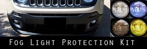 15-18 Jeep Renegade Fog Light Protection Kit