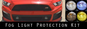 15-17 Ford Roush Mustang GT Lower Fog Light Protection Kit