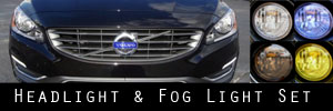15-18 Volvo V60 Headlight and Fog Light Protection Kit