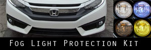16-19 Honda Civic Sedan Coupe Hatchback Fog Light Protection Kit
