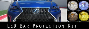 15-18 Lexus RC / RC-F LED Bar Protection Kit