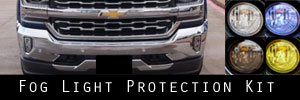 16-18 Chevrolet Silverado Fog Light Protection Kit