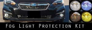 17-19 Subaru Impreza Fog Light Protection Kit