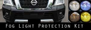 17-19 Nissan Armada Fog Light Protection Kit