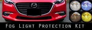 17-18 Mazda Mazda3 Fog Light Protection Kit
