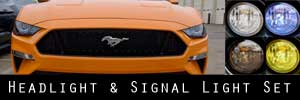 18-19 Ford Mustang Headlight and Signal Light Protection Kit