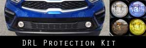 19 Kia Forte Sedan Round DRL Protection Kit