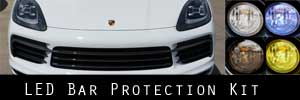19-20 Porsche Cayenne LES Bar Protection Kit