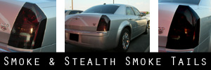 05-10 Chrysler 300 / 300C / 300 Limited / 300 Touring / SRT8 Smoked Taillight Kit
