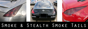 03-08 Nissan 350Z Smoked Taillight Kit