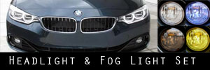 14-20 BMW 4 Series Headlight and Fog Light Protection Kit