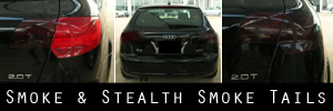 06-13 Audi A3 Smoked Taillight Kit