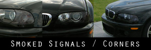 01-06 BMW E46 M3 Signal / Corner Light Protection Kit
