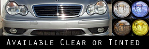 01-04 Mercedes-Benz C32 Headlight Protection Kit