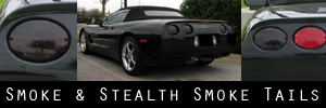 97-04 Chevrolet Corvette Smoked Taillight Kit