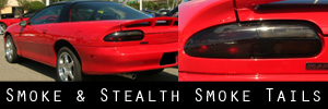 93-02 Chevrolet Camaro Smoked Taillight Kit