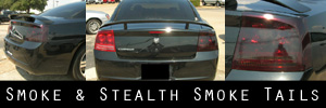06-08 Dodge Charger Smoked Taillight Kit