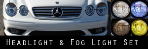 00-06 Mercedes-Benz CL500 Sport, CL600 Sport, CL55, CL65 Headlight and Fog Light Protection Kit