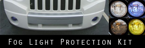 07-09 Jeep Compass Fog Light Protection Kit