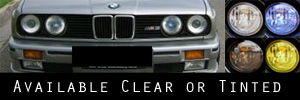 84-91 BMW E30 3 Series Headlight Protection Kit